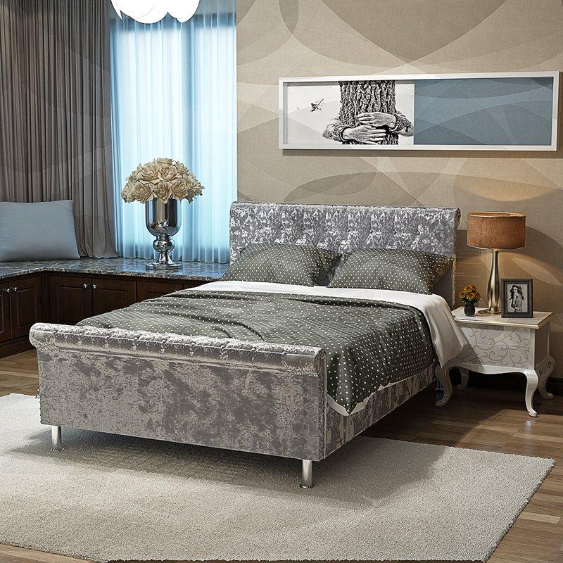 Aliexpress.com  Buy Crushed Velvet Fabric Upholstered ...