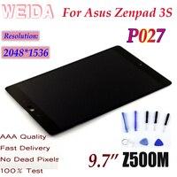 """ウェイダ 10.1 """"液晶 Asus Zenpad 3S 10 Z500M P027 2048*1536 液晶ディスプレイのタッチスクリーンアセンブリ P027 -"""