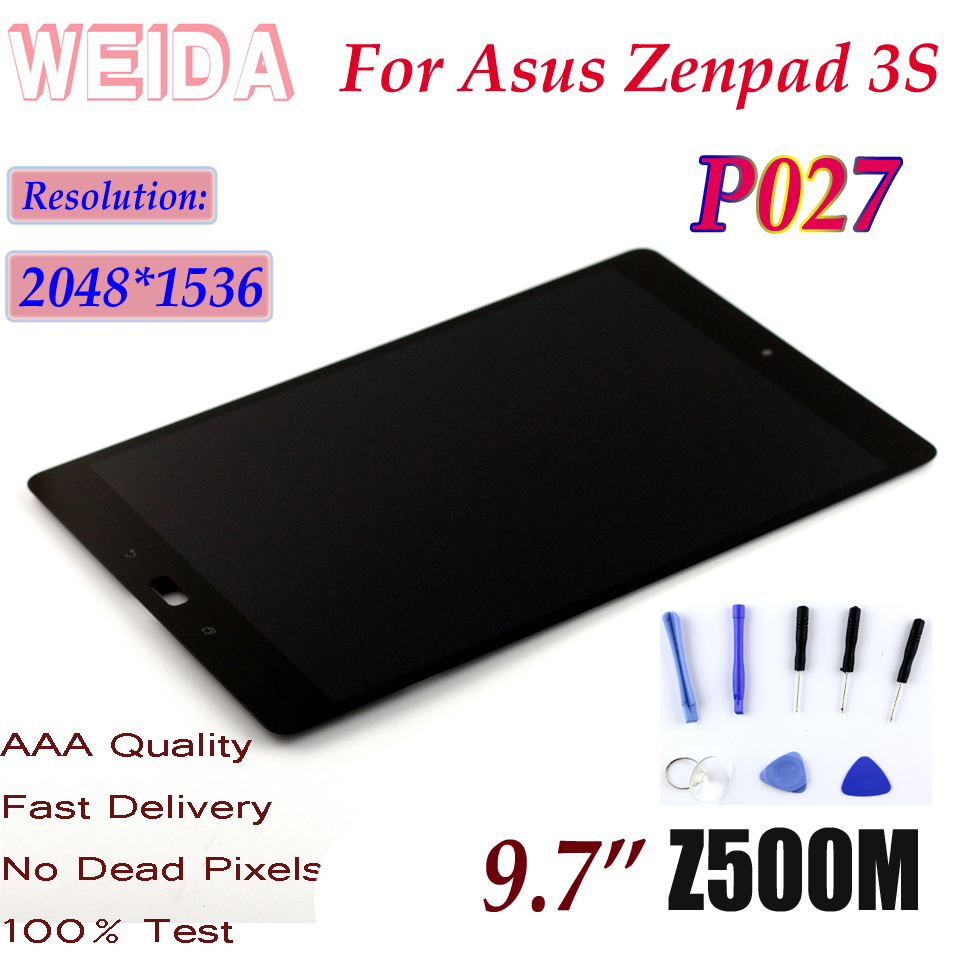 LCD For Asus ZenPad 3S 10 Z500M P027 Touch Digitizer LCD Assembly 2048*1536 USA