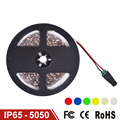 LED Strip Light SMD5050 5m 60LED/m Flexible LED Lamp Single Color DC12V IP65 Waterproof Warm White,Red,Blue,Green,White,Yellow