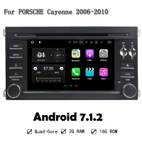 Android 7.1.2 CAR Multimedia Player GPS Navi FOR PORSCHE Cayenne 2006-2010 Car Audio Stereo Head Unit Support 3G 4G WIFI