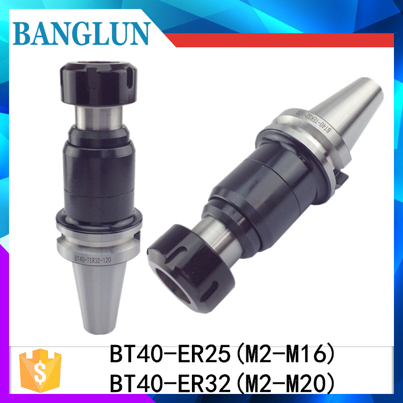 New BT40 TER32 TER25 Floating Tap holder BT40 tapping collet chuck cnc milling thread tool,Retractable Tapping Holder new bt40 er32 floating tap holder bt40 tapping collet chuck cnc milling and turn