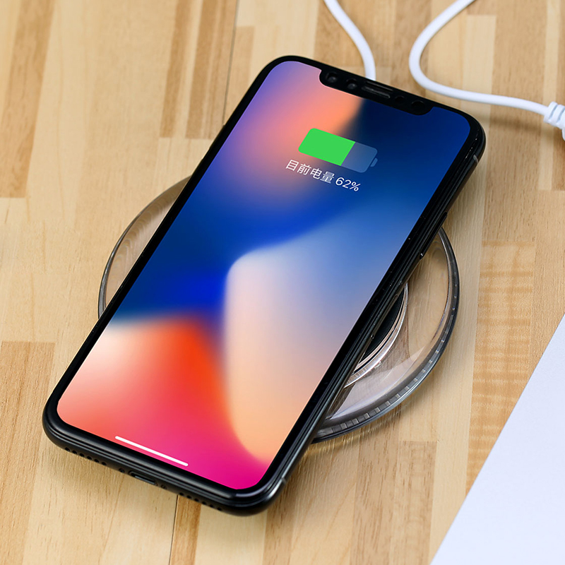 Remax RP W1 Qi Wireless Charger For iphone X 8 8plus
