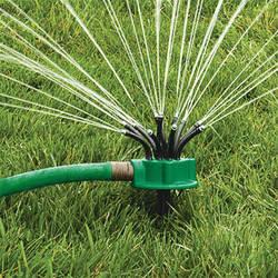 Новинка 2017 года 360 градусов вращающихся спринклерной лапшеобразная головка распылитель воды полива дождеванием для орошения сада крыша