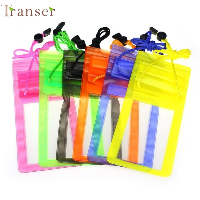 Activing Travel Swimming Waterproof Bag Case Cover for 5.5 inch Cell Phone Drop Shipping OCT27