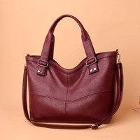 soft leather women handbag tote large size female bag shoulder shopping bag new arrival fashion women messenger bags
