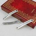 Старинное Серебро Испанский Разъемы Подвеска Тибетский серебряный Браслет Застежками Бусы 44x7 мм (K00546)