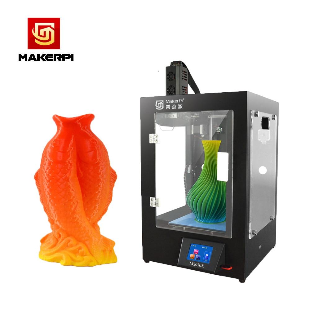3D Printer MakerPi M2030X Automatic FDM 3d Mix Colored