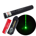 Green laser pointer long distance with keys switch with 18650 rechargeable battery and charger H025