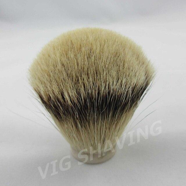 20pcs/lot 28/72mm SilverTip Badger hair Shaving Brush Head