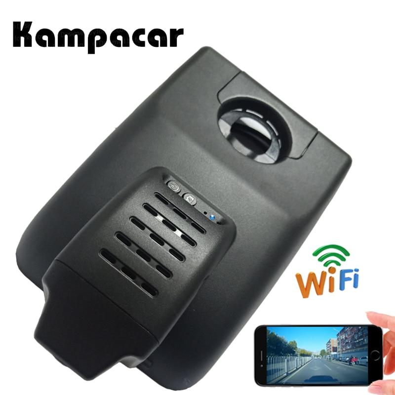 Enregistreur vidéo de voiture Wifi Dvr Kampacar HD 1080 P pour Toyota Camry V70 XV XV70 2018 double objectif caméra de tableau de bord avec deux caméras