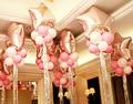 Большая Звезда Воздушный Шар Латексные Шары + Щепка шнура лента свадьба воздушные шары Брак украшения баллон Майлара Фольгированные шары набор