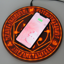 2019 Comic Magic Array Wireless Charger Circle Qi W