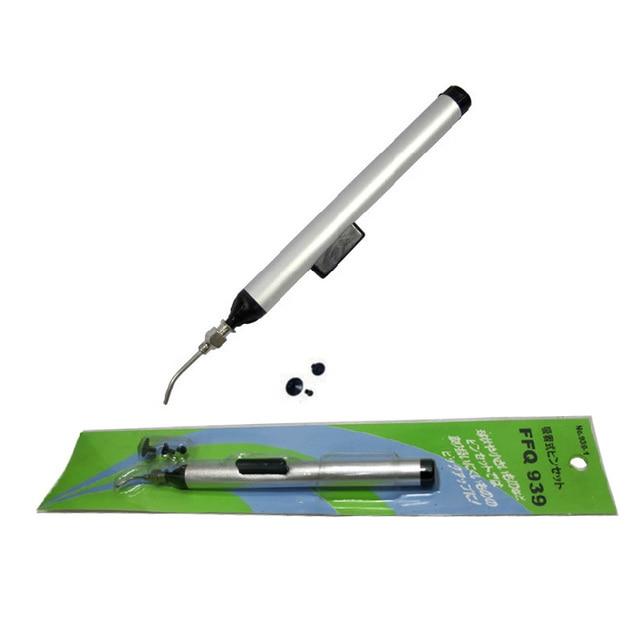 2PCS /Lot FFQ 939 Vacuum Sucking Pen Pencil IC Easy Pick Up Tool FFQ 939 SMD SMT BGA Soldering Rework Hand Tool