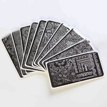 Nail Stamping Plates 30 Pattern Choice SPV(01-30) Art Template DIY Manicure Plate For 1pcs