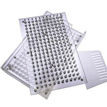 000#00#0#-4#209 Hole Capsule Filling Plate / Capsule Filling Machine Manual Capsule Filling Machine Manual Capsule Machine 1