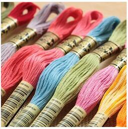oneroom 80 Pcs Original French DMC Thread Embroidery Cross Stitch Floss Thread Yarn--Choose Any Colors And Quantity Freely