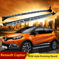 JIOYNG Running Boards For Renault Captur 2014 2019 Car Auto Side Step Bar Pedals Brand New Nerf Bars