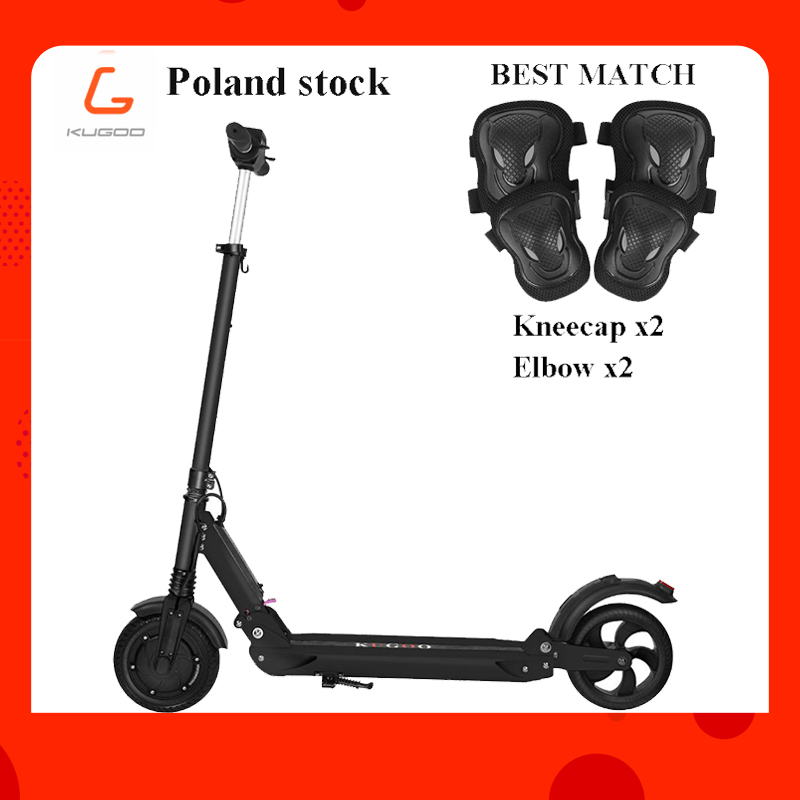 Free tax KUGOO S1 patinetas electricas scooter Adult Electric Scooter 350W 35km h Max Load 120KG