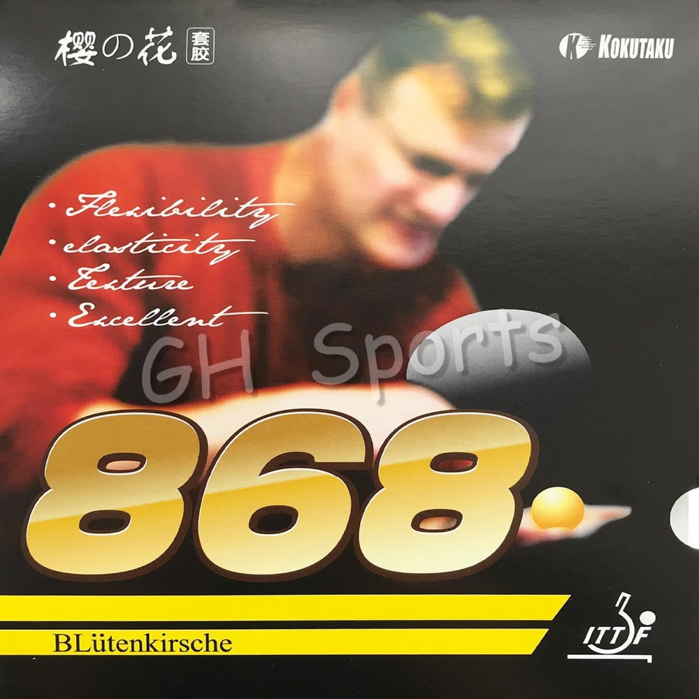 Whole SALE ITTF Approved KOKUTAKU 868 Table Tennis Rubber, Ping Pong Rubber Best Control