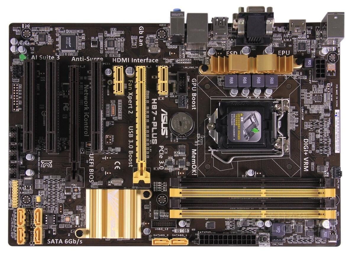 все цены на H87-PLUS 1150 pin motherboard large board support 4790K 80%-90%new онлайн