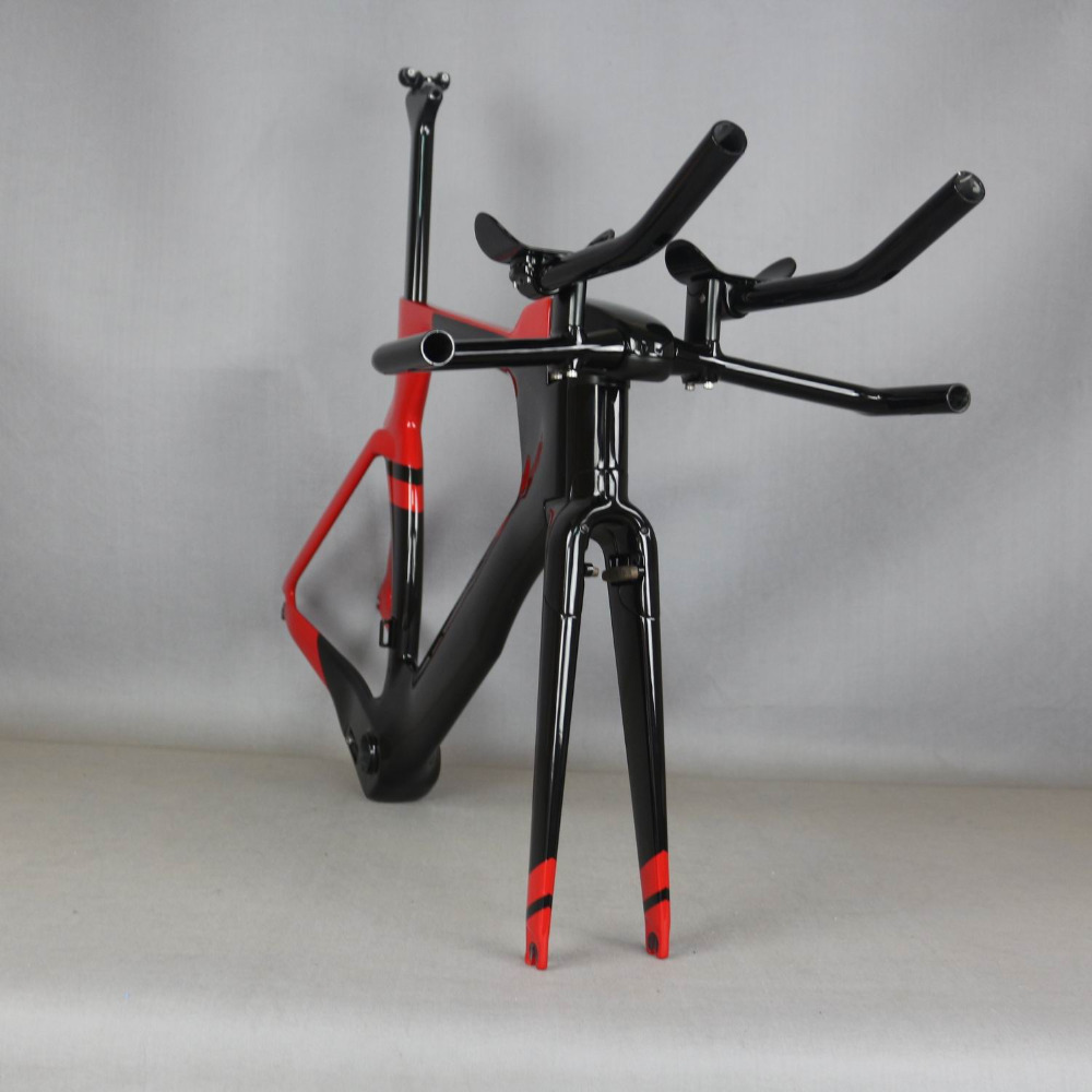 Accept Paint Include TRP Brake Time Trial Carbon Frame  SERAPH Complete BIKE FM-TT01 TT Carbon Frame TT Triathlon Frameset,
