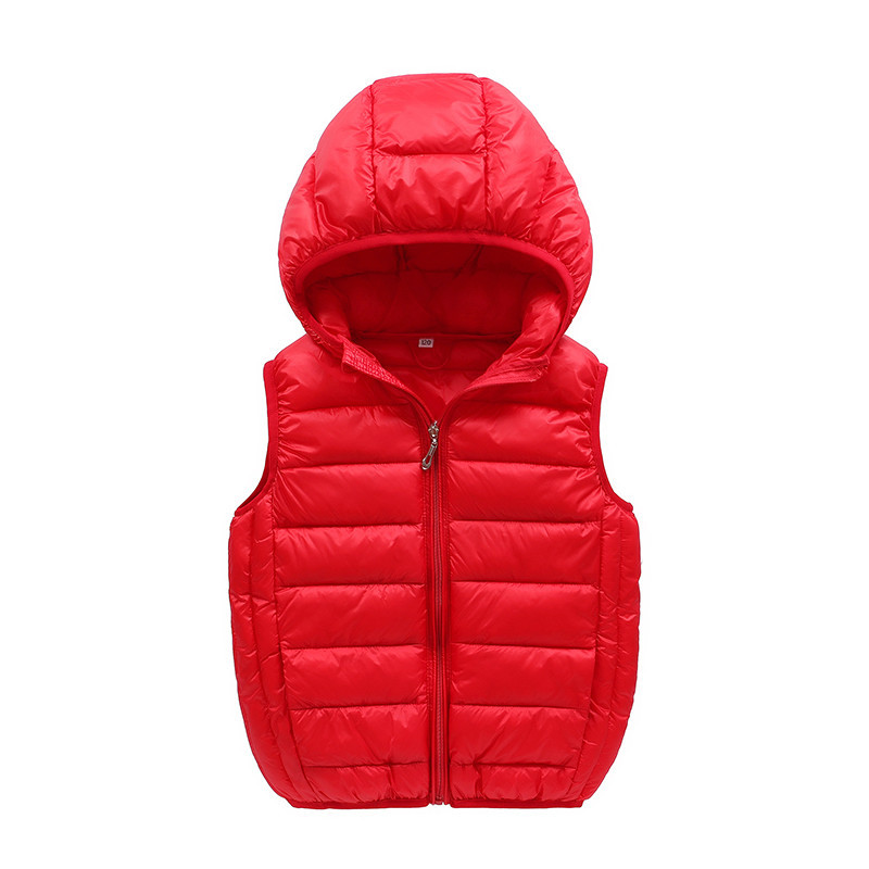 JKP 2018 Down vest coat autumn and winter boys Korean version of the new children's wear down jacket hooded down jacket MF-98 2017 winter down jacket male korean version of self cultivation hooded thick in the long fashion trend of youth style downjacket