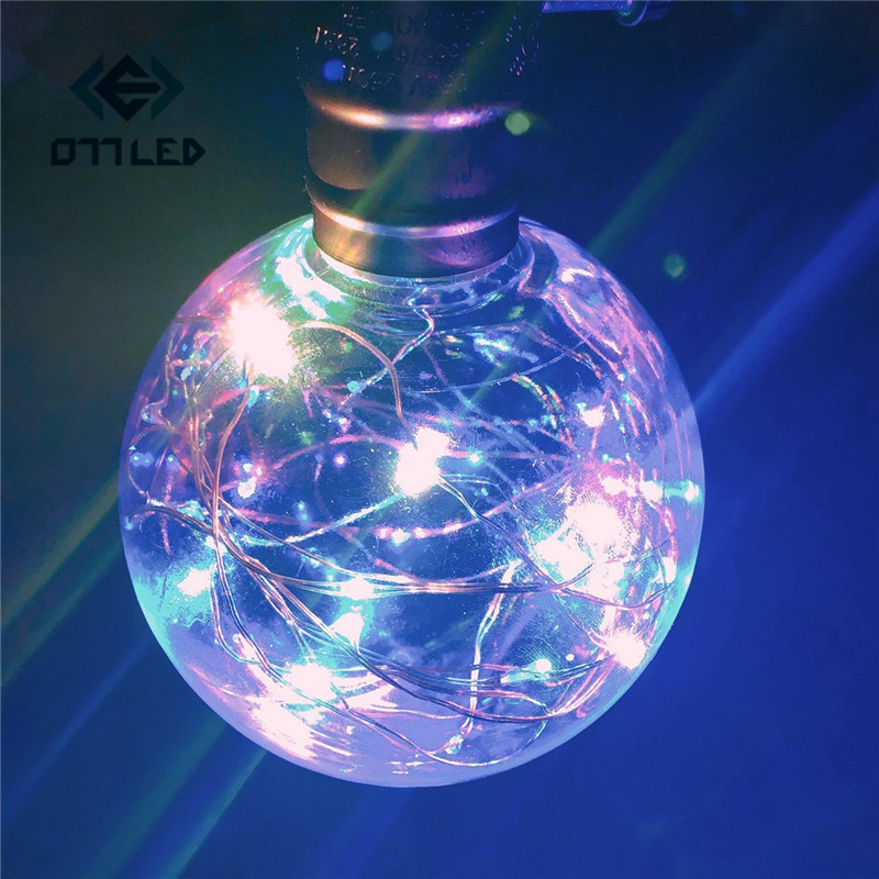 Vintage <font><b>LED</b></font> Bulb <font><b>E27</b></font> 220V <font><b>110V</b></font> <font><b>LED</b></font> String Filament Lamp Multi Color Fairy Lights for Christmas Wedding Party Home Decoration New image