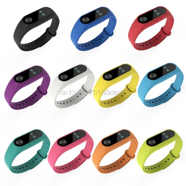 Free delivery TPU Replacement Wristband Bracelet Bangle Watchband For Xiaomi Mi
