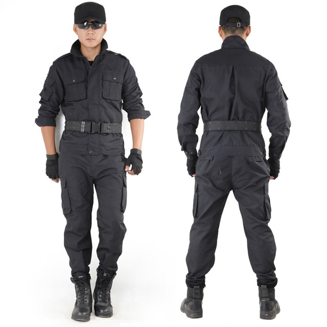 Black Military Suits