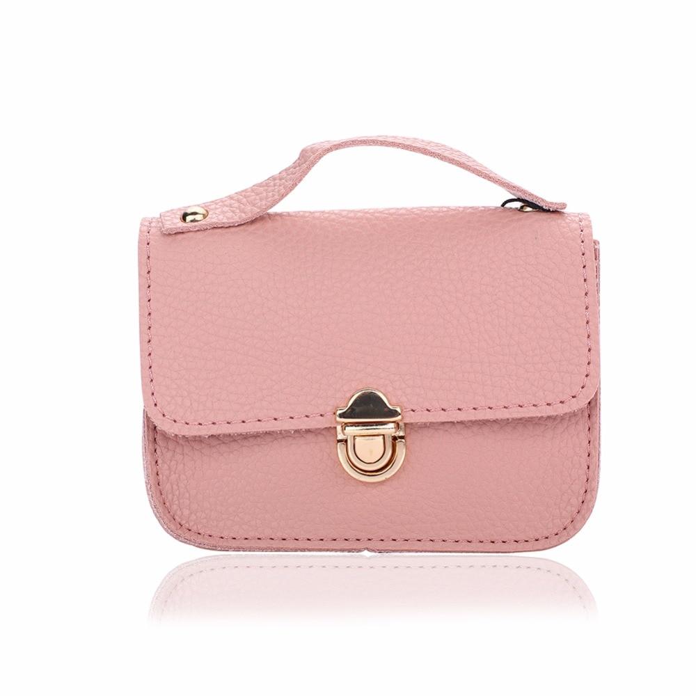 Wallyn S Pu Leather Mini Shoulder Crossbody Bag Little Handbags Fashion Small Cute Messenger Bags Baby