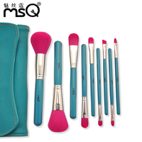 MSQ 9 Pcs Premiuim Makeup Brush Set High Quality Soft Taklon Hair Professional Makeup Artist Brush