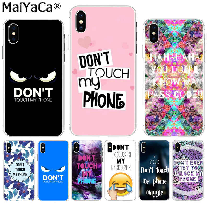 cover iphone 6 dont touch my phone