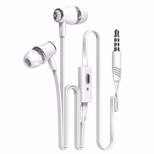 Langsdom JV23 with Microphone Super Bass earphone  For iphone 6 6s xiaomi