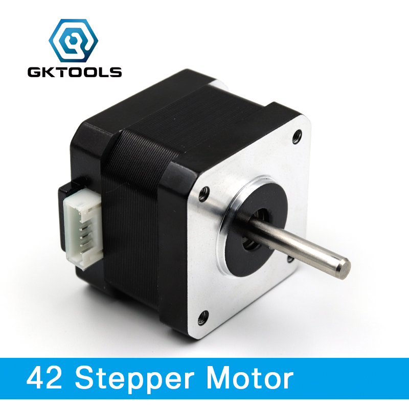 Free Shipping Nema17 Stepper Motor 42 Step Motor 4-lead Motor For CNC 3D Printer