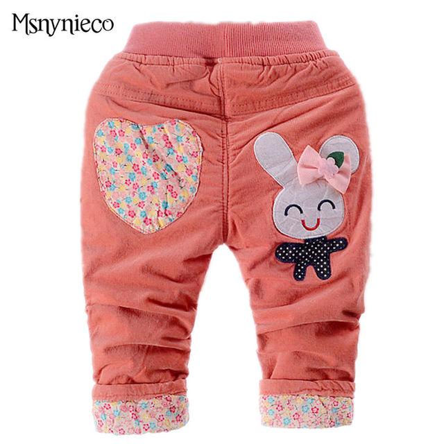Inverno Leggings Outono Inverno calças Do Bebê Calças Casuais Meninas Do Bebê Quente Grosso Roupa Dos Miúdos Crianças Roupas De Menina vestidos Infantis
