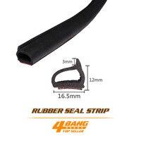 4 Metre 160 X D Shape Guard Lock Pillar WeatherStrip Rubber Seal Edge Trim Soundproof Dustproof