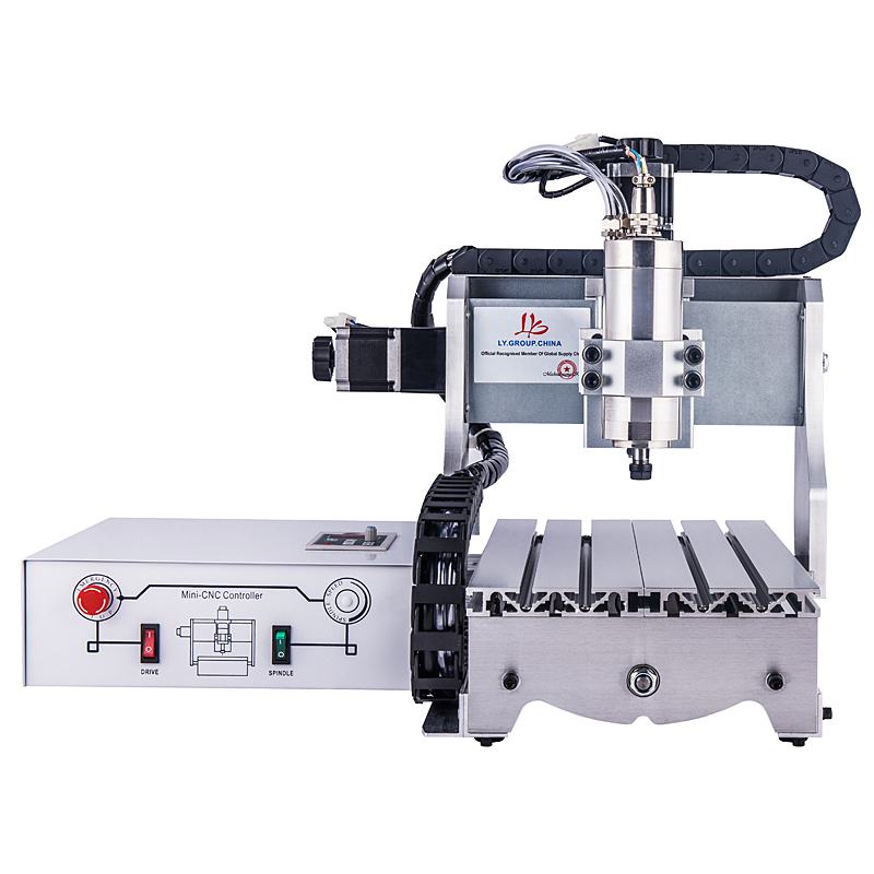 3020Z S800 3axis CNC engraving machine with 800W water cooling spindle can work with the wood stone metal