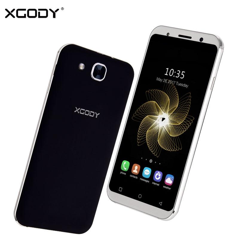 Xgody S11 Smartphone 5.3 '' 1GB RAM 8GB ROM Quad Core Dual SIM Cards Android 5.1 Telefone Celular 3G Unlocked Mobile Cell Phones