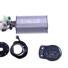 36 в 48 в 500 Вт контроллер LED900S дисплей метр PAS набор электронных велосипедов конверсионный комплект Двойной Режим Датчик Холла и датчик Холла меньше совместим