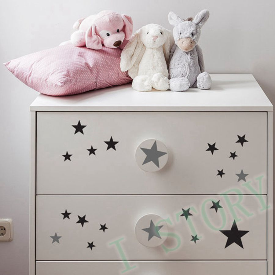 Aliexpress Com Buy Gold Stars Wall Decal Vinyl Stickers Golden Star Kids Rooms Wall Art Nursery Decor Stickers From Reliable Decorative Stickers Suppliers