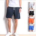 Casual Mens Shorts Summer Beach Shorts Men's Solid Jogger Shorts Cotton Fashion Men Bermuda Shorts Large Size A1637