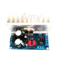 Free Shipping HIFI High Fidelity TDA7265 Amplifier Board Dual Channel Pure Stage With A Large Radiator