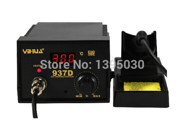 US Local Shipping 937D+ Soldering Station SMD Heater Iron Welding ESD Welder Digital Tool nicholls d us