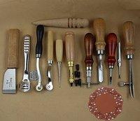 Paixão Junetree básica mão Stiching Leathercraft Set ( 12 itens )