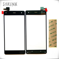 Syrinx With 3M Tape Moible Phone Touch Panel Touchscreen For DEXP Ixion P4 Touch Screen Digitizer