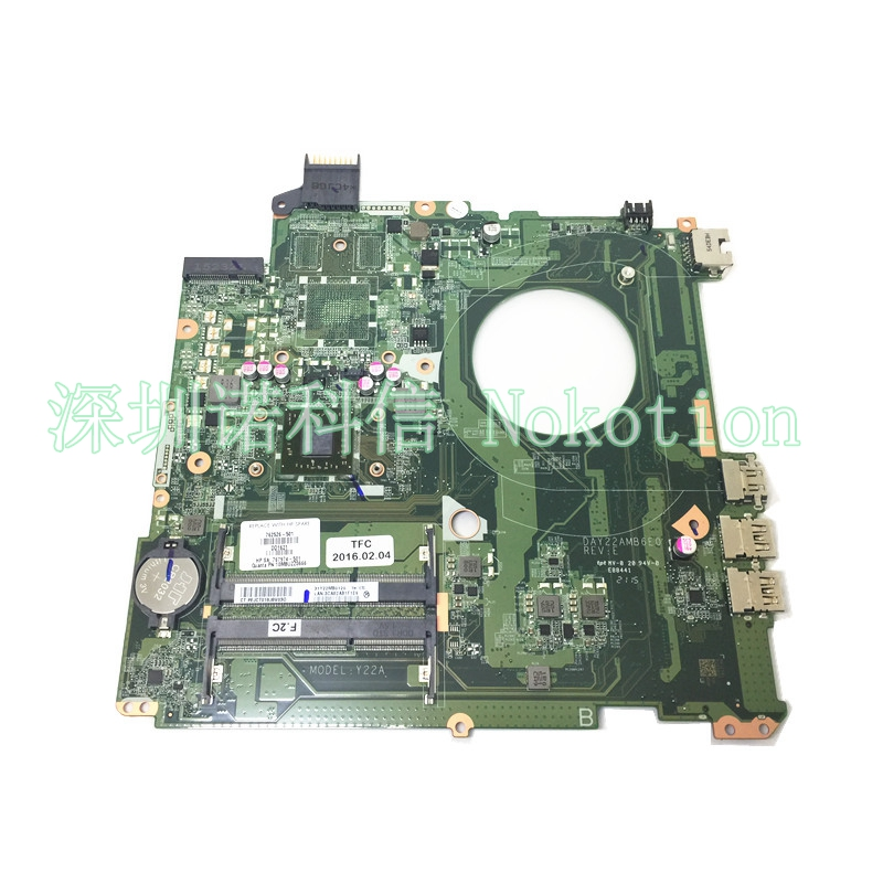 762526-001 DAY22AMB6E0 Mainboard For HP Pavilion 15-P laptop motherboard A8-6410 cpu onboard DDR3 762526-501 762526-01 Full Test762526-001 DAY22AMB6E0 Mainboard For HP Pavilion 15-P laptop motherboard A8-6410 cpu onboard DDR3 762526-501 762526-01 Full Test