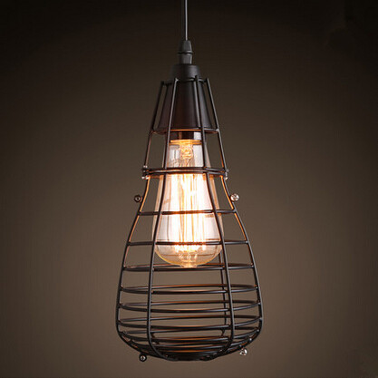 Industrial Loft Style Edison Pendant Light Creative Modern Droplight Hanglamp Fixtures For Home Lightings Bar Cafe Living Room novelty volcanic stone led pendant lamp reisn hemp rope creative droplight hanglamp fixtures for home lightings cafe living room