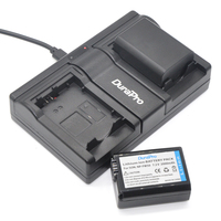 DuraPro USB Dual Channel Charger For Canon Can 5D Mark II III 7D 60D EOS 6D