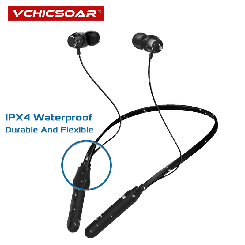 Vchicsoar MST Bluetooth Earphone Sports Wireless Headphones Stereo Magnetic In Ear Bluetooth Headset for Phone Xiaomi Samsung
